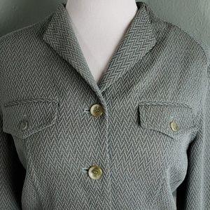 Oscar by Oscar de la Renta Wool/Silk Bomber Jacket
